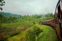 Sri Lanka, train Royalty Free Stock Images