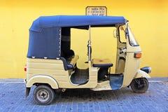 Sri Lanka Tuk Tuk. Sri Lanka traditional vehicle Tuk Tuk in Galle stock photography