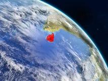 Sri Lanka vom Raum lizenzfreie abbildung