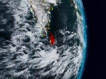 Sri Lanka vom Raum nachts stockbilder