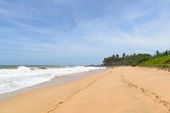 Sri Lanka. Westkust Stock Foto's