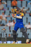 Sri Lankan batsman Mahela Jayawardene Stock Photography
