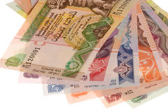 Sri Lankan Currency Isolated Stock Photo