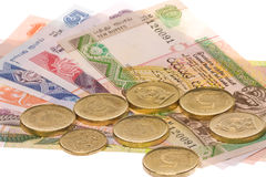 Sri Lankan Currency Isolated Royalty Free Stock Photo