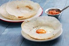 Sri lankan egg hopper Royalty Free Stock Image