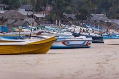 Sri Lankan Fischerboote Stockbilder