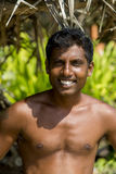 Sri Lankan fisherman Stock Photo
