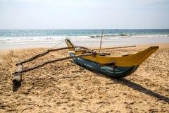 Sri Lankan fishing boat Stock Photography