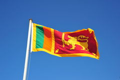 Sri Lankan Flag Royalty Free Stock Images