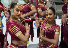 Sri Lankan girls Royalty Free Stock Images