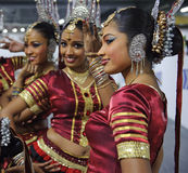 Sri Lankan girls Stock Image
