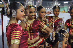 Sri Lankan girls Stock Photography