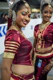 Sri Lankan girls Royalty Free Stock Photos