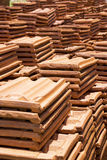 Sri Lankan Handmade Roof Tiles Stock Images