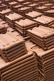 Sri Lankan Handmade Roof Tiles Stock Image