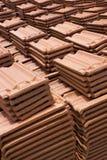 Sri Lankan Handmade Roof Tiles Stock Image
