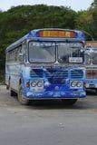 Sri Lankan Kleurrijk Leyland Busses Stock Afbeeldingen