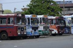 Sri Lankan Leyland Busses Stock Foto's