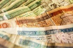 Sri Lankan Money Royalty Free Stock Photography