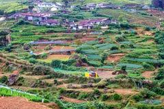 Sri Lankan mountain village Stock Photos