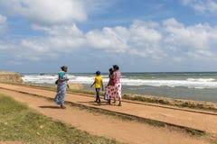 Sri Lankan people, Galle Fort, Sri Lanka royalty free stock image