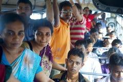 Sri Lankan public bus Royalty Free Stock Photos