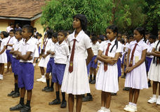Free Sri Lankan Pupils Stock Photography - 89867942
