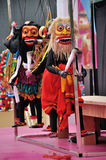 Sri Lankan Puppet Show Royalty Free Stock Photography
