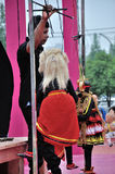 Sri Lankan Puppet Show Stock Photo