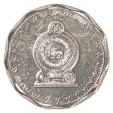 10 Sri Lankan Rupienmünze Stockbilder