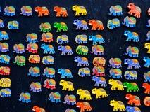 Sri Lankan souvenirs displaying for sale