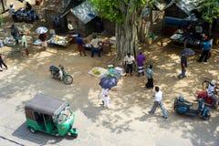Sri Lankan Straße Lizenzfreie Stockfotos