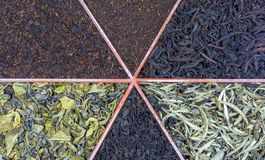Sri Lankan teas Stock Photo