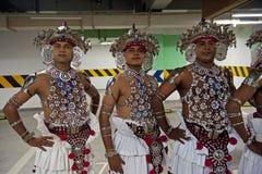 Sri Lankan traditional dancers Royalty Free Stock Image