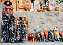Sri Lankan traditional handcrafted goods shop Royalty Free Stock Photography