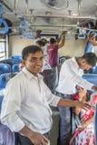 Sri Lankan train Royalty Free Stock Images