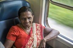 Sri Lankan train Royalty Free Stock Photography