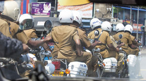 Sri- Lankapolizei Lizenzfreie Stockfotos