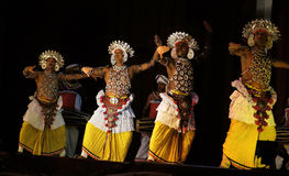 Sri Lankas traditional dance Royalty Free Stock Images