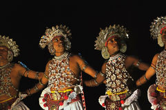 Sri Lankas traditional dance Royalty Free Stock Photo