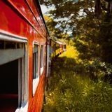 Sri lanki stary pociąg Fotografia Royalty Free