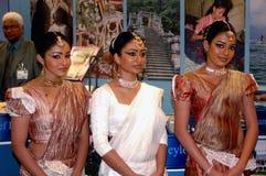 SRI LINKA tancerza kobiety zdjęcia royalty free