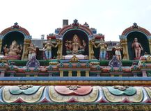 Sri Maha Mariamman hindu temple Stock Photography