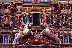 Sri Maha Mariamman tempel fotografering för bildbyråer