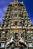 Sri Maha Mariamman Temple Stock Afbeelding