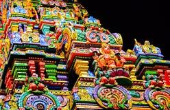 Sri Maha Mariamman Temple, dettaglio Immagine Stock Libera da Diritti