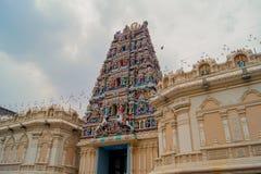 Sri Mahamariamman寺庙,吉隆坡-马来西亚 库存图片