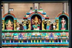 Sri Mahamariamman寺庙,吉隆坡 库存图片
