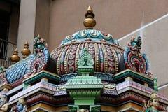 Sri Mahamariamman detalj fotografering för bildbyråer