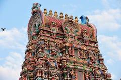 Sri Mahamariamman Hindu Temple, Bangkok, Thailand. Royalty Free Stock Images